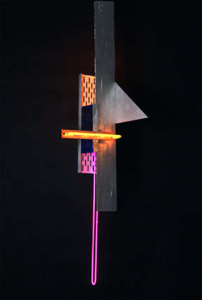 """To the Max"", A Neon Sculpture by Eric Ehlenberger"
