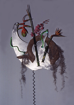 """Flor Exotica I"",  Neon  Art,  Sculpture gallery"