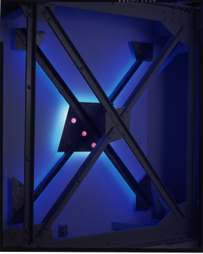 """Harkin's Cross"",  Neon Art Sculpture Gallery"